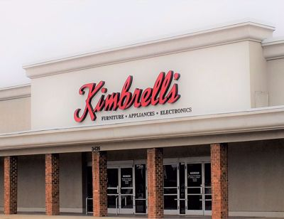 Entrance to Kimbrells  in Fayetteville, NC Bragg Blvd