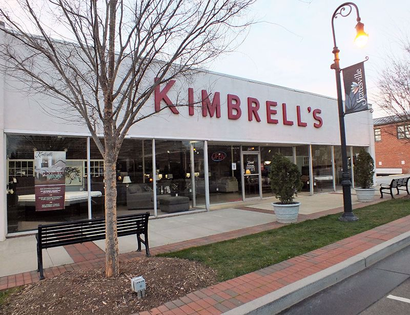 Entrance to Kimbrells in Statesville, NC