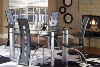 Astro Black Dining Set Kimbrell S Furniture