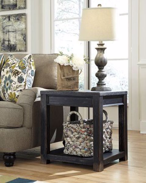 Picture of Gavelston - Square End Table