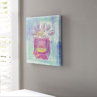 Picture of Beula - Teal Bottle Wall Art