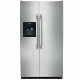 Picture of Stainless Refrigerator SXS 26 CU FT