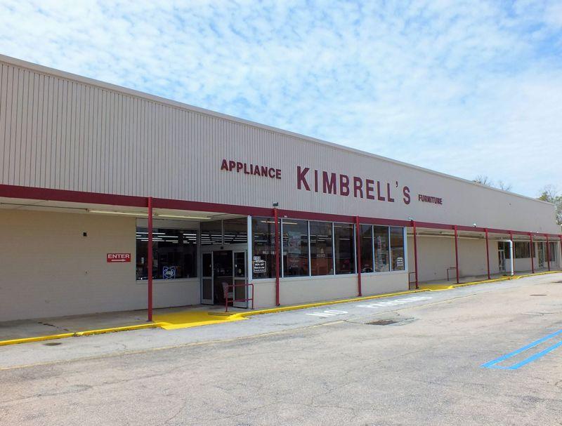 Entrance to Kimbrells in Orangeburg, SC