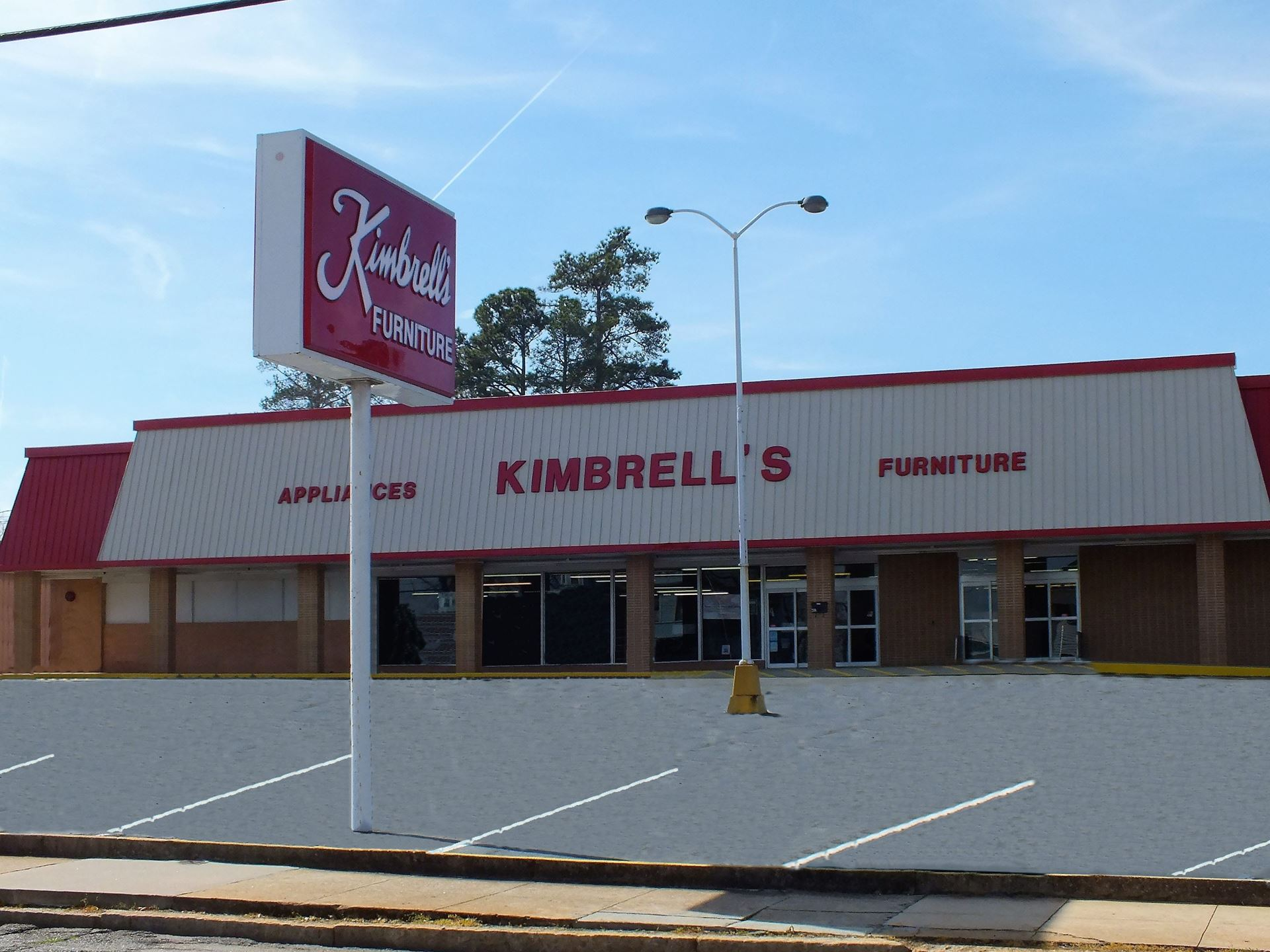 Entrance To Kimbrells In Elberton Ga