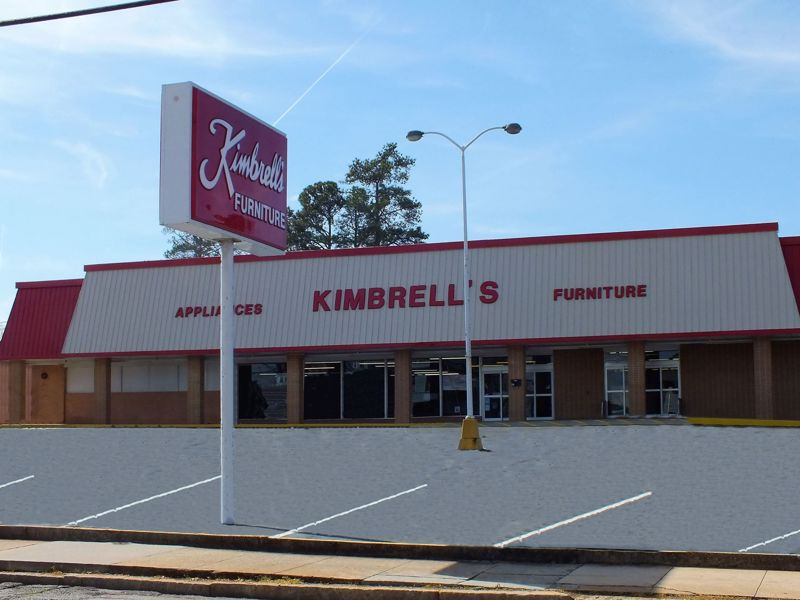 Entrance to Kimbrells in Elberton, GA