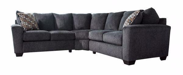 Superb Wixon Slate 2Pc Sectional Machost Co Dining Chair Design Ideas Machostcouk
