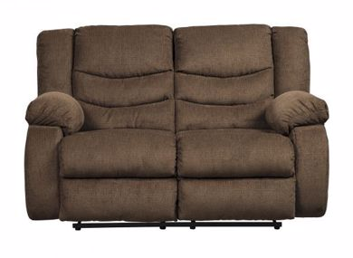 Picture of Tulen - Chocolate Reclining Loveseat
