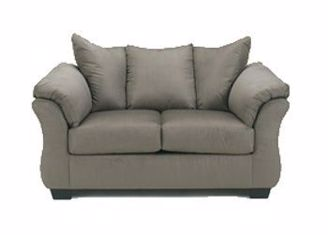 Picture of Darcy - Cobblestone Loveseat