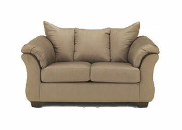 Picture of Darcy - Mocha Loveseat