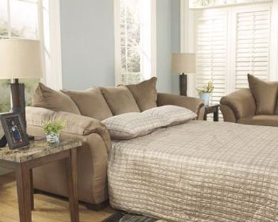 Picture of Darcy - Mocha Sleeper Sofa