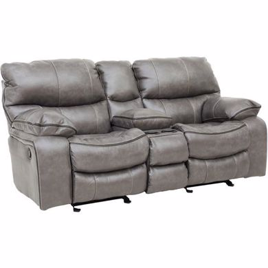 Picture of Camden - Steel Reclining Console Loveseat