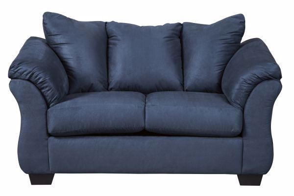 Picture of Darcy - Blue Loveseat