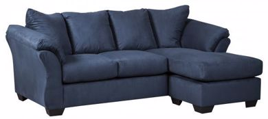 Picture of Darcy - Blue Sofa Chaise