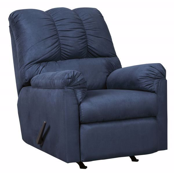 Picture of Darcy - Blue Recliner