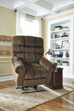 Picture of Ernestine - Truffle Power Lift Recliner