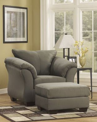 Picture of Darcy - Sage Ottoman