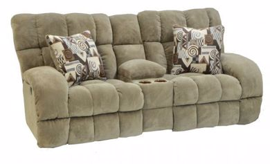 Picture of Siesta - Porcini Relcining Console Loveseat