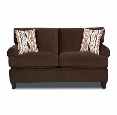 Picture of Jackpot - Chocolate Loveseat