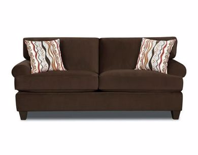 Picture of Jackpot - Chocolate Sofa