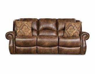 Waylon Mocha Reclining Sofa