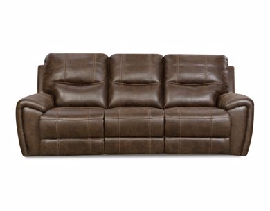Picture of Desert - Chocolate Reclining Sofa