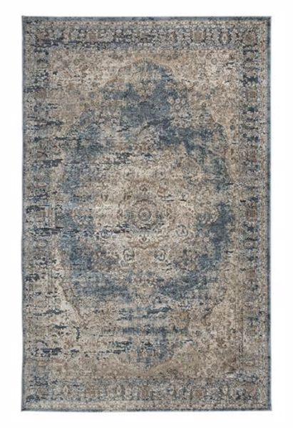 Picture of South - Blue/Tan 5X7 Rug
