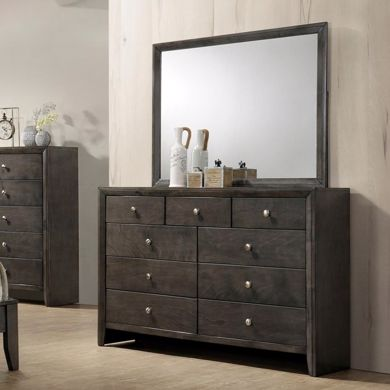 Picture of Evan - Gray Dresser & Mirror