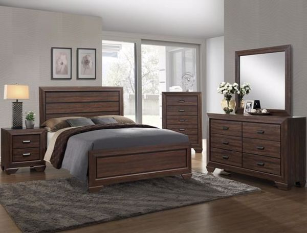 Picture of Farrow - Walnut King Bed