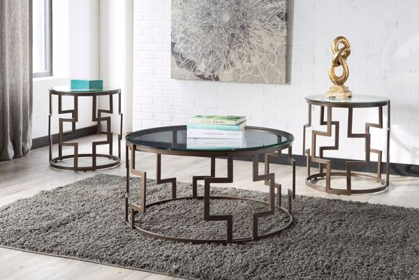 Picture of Frostine - 3pc Occasional Tables