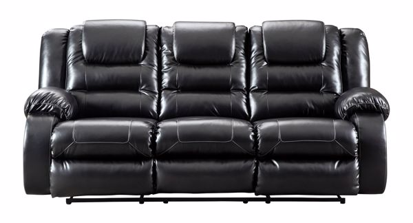Picture of Vacherie - Black Reclining Sofa