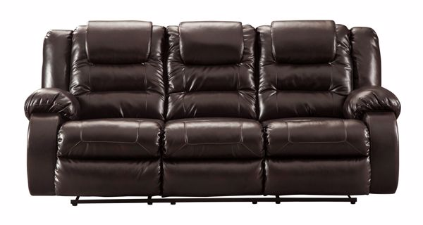 Picture of Vacherie - Chocolate Reclining Sofa