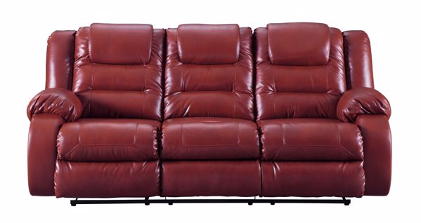 Picture of Vacherie - Salsa Reclining Sofa