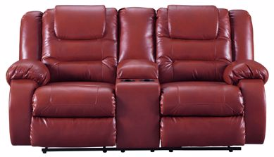 Picture of Vacherie - Salsa Reclining Console Loveseat