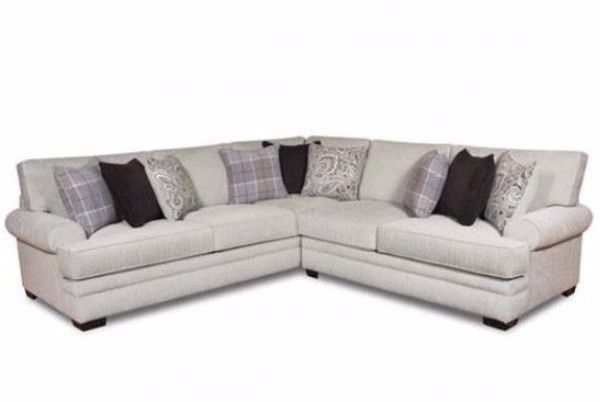 Terrific Griffin Menswear 2Pc Sectional Inzonedesignstudio Interior Chair Design Inzonedesignstudiocom