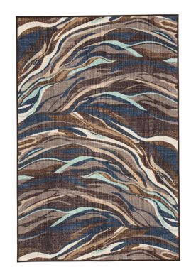 Picture of Jochebed - Blue & Brown 5X8 Rug