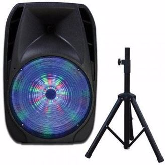 """Picture of 15"""" Speaker with Tripod Stand"""