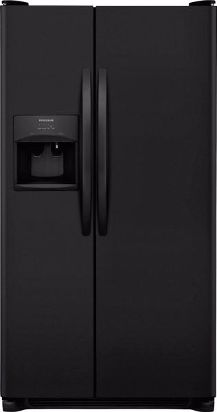 Picture of Black Refrigerator SXS 26 CU FT