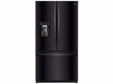 Picture of 26 CU. FT. Black French Door Refrigerator