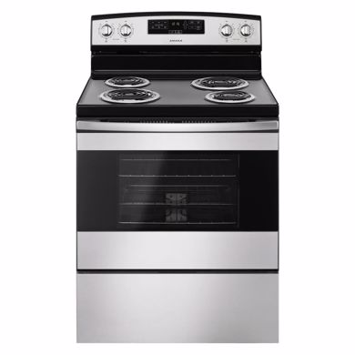 "Picture of 30"" Stainless Steel Electric Range"