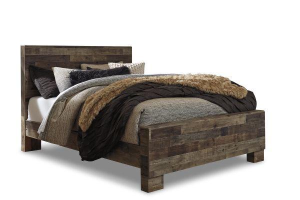 Picture of Derekson - Multi Gray Queen Bed