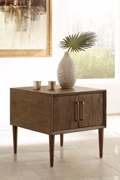Picture of Kisper - Brown End Table