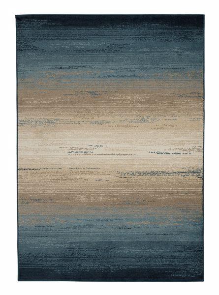 Picture of Ignacio - Blue & Tan Medium 5X7 Rug