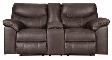 Picture of Boxberg - Teak Reclining Console Loveseat