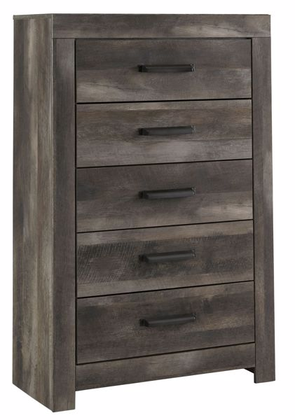 Picture of Wynnlow - Gray 5 Drawer Chest