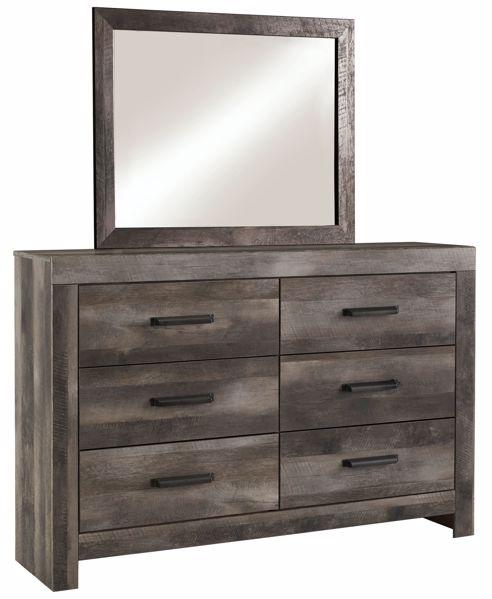 Picture of Wynnlow - Gray Dresser & Mirror