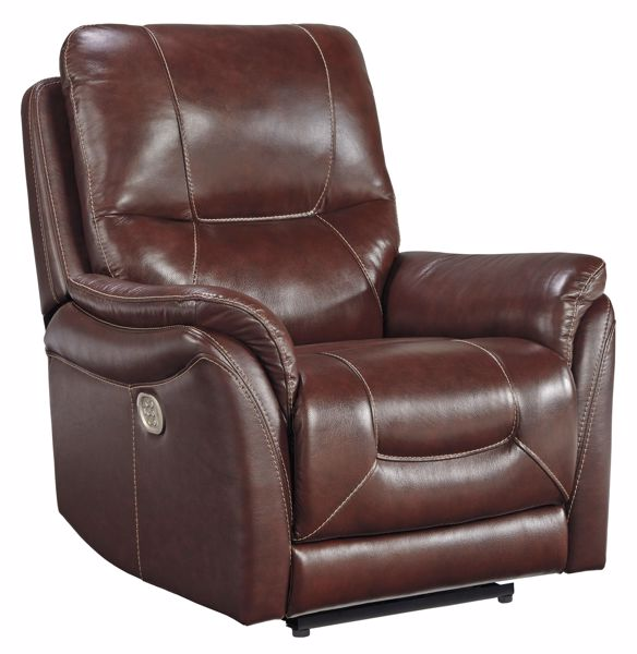 Picture of Stolpen - Walnut Power Recliner