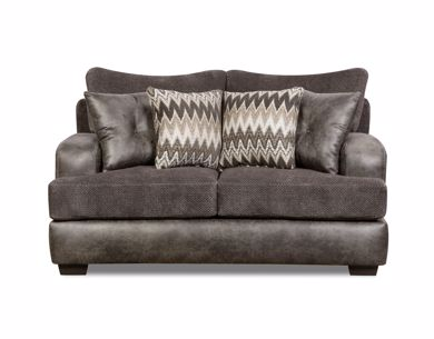 Picture of Ulysses - Charcoal Loveseat