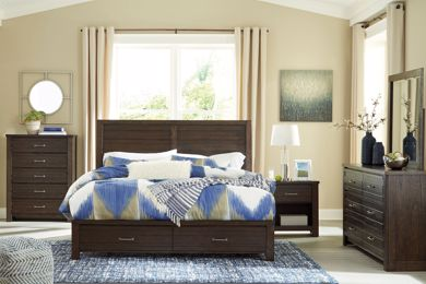 Picture of Darbry - Queen Storage Bed