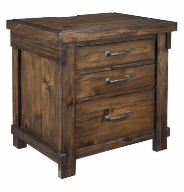 Picture of Lakeleigh - 3 Drawer Nightstand