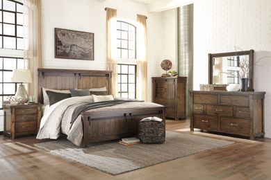Picture of Lakeleigh - King Panel Bed